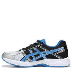 ASICS Men's Gel-Contend 4 X-Wide Running Shoes (Silver/Blue/Black) - 10.5 4E