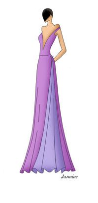 Disney Fashion: Jasmine by Ellevira