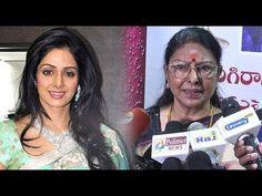 Actress Sharada demands Bharat Ratna to Sridevi | Sridevi's condolence m...