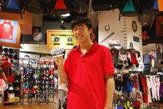 【大阪店】2014.08.14 お父様とお越しいただきました^^ネッツのバンド毎日使ってくださいね^^また来てください^^