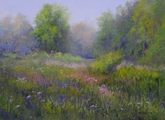 """The Fields by Kathy McDonnell  ~ 12"""" x 16"""""""