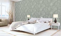 Eenvoudig een moderne of landelijke sfeer scheppen in uw kamers? 😉  Met behang werk je binnen de kortste keren kleine oneffenheden weg en zorg je door de textuur van het papier voor een warme aankleding. 🤩  #BPdecor #interieurinspiratie #schilderwerken #decoratie #interieur Wallpaper, Bed, Modern, Furniture, Home Decor, Paper, Trendy Tree, Decoration Home, Stream Bed