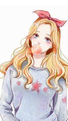 Imagen de anime girl, nice, and anime