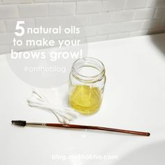 5 natural oils to make you brows grow!