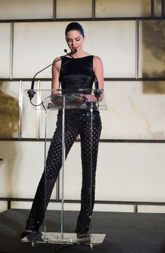 At the Fashion Media Awards in New York. See all of Kendall Jenner's best looks.