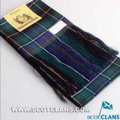 Clan MacInness Wool Tartan Sash