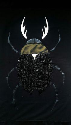 BLACK beetle Blanket