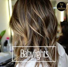Babylights are the perfect way to get a sun-kissed, natural look for the summer. #HairInspiration #PrettyDollfacedAZ