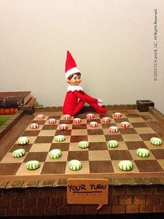Elf Ideas - Winner gets the candies!