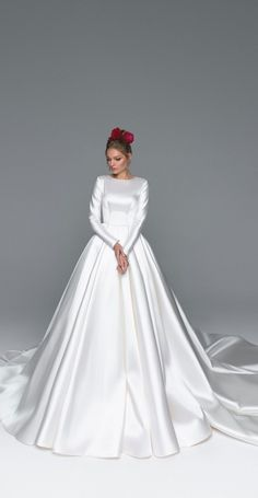 Eva Lendel Wedding Dresses - Eva Bridal Collection - Wedding and Bride . - Eva Lendel Wedding Dresses – Eva Bridal Collection – Wedding and Bride E - Muslim Wedding Dresses, Dream Wedding Dresses, Bridal Dresses, Wedding Gowns, Lace Dresses, Simple Dresses, Wedding Ceremony, Wedding Flowers, Bridesmaid Dresses