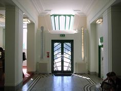The Hoover Building    Main Lobby, The Hoover Building (1931-1935) by Wallis Gilbert and Partners, Western Avenue, London