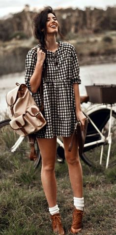45 Sassy Indie Fashion Outfits To Make The Bitches Jealous | Indie Fashion Outfits | Independent Fashion Outfits | Chic Outfits | Fenzyme.com