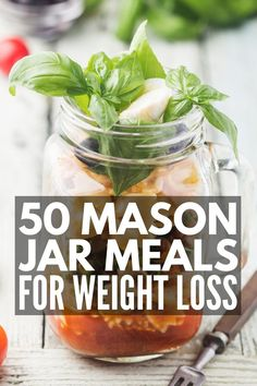 Meal Prep Sundays: 50 Packable Mason Jar Meals for Weight Lo.- Meal Prep Sundays: 50 Packable Mason Jar Meals for Weight Loss 50 Mason Jar Meals for Weight Loss Mason Jar Breakfast, Mason Jar Lunch, Mason Jars, Mason Jar Meals, Meals In A Jar, Mason Jar Recipes, Easy Clean Eating Recipes, Clean Eating Diet, Easy Recipes