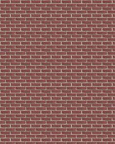 Brick siding I am using on this house. Plan Wallpaper, Brick Wallpaper, Paper Wallpaper, Brick Paper, Doll House Wallpaper, Brick Texture, Marble Texture, Mini Doll House, Brick Design