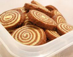 פיית העוגיות: עוגיות שיש ספירליות יפהפיות