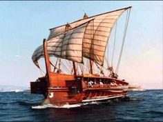 Ancient Greeks: Golden Age of Civilization. Mystery of History Volume Lesson 71 Ancient Rome, Ancient Greece, Ancient History, Greek History, Tall Ships, Age Of Civilization, Arte Viking, Old Sailing Ships, Empire Romain