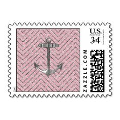 @@@Karri Best price          Girly Pink Silver Glitter Chevron Pattern Anchor Postage Stamps           Girly Pink Silver Glitter Chevron Pattern Anchor Postage Stamps lowest price for you. In addition you can compare price with another store and read helpful reviews. BuyDeals          Girly Pink ...Cleck Hot Deals >>> http://www.zazzle.com/girly_pink_silver_glitter_chevron_pattern_anchor_postage-172390074478458650?rf=238627982471231924&zbar=1&tc=terrest