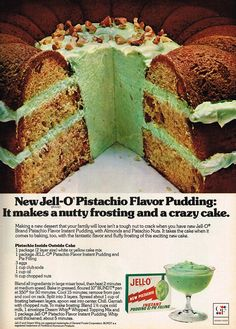 Vintage Ad #2,322: Nutty Frosting, Crazy Cake | Flickr - Photo Sharing!