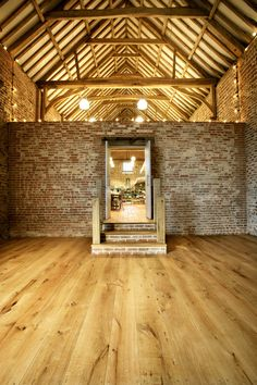 Havwoods flooring in a beautiful barn