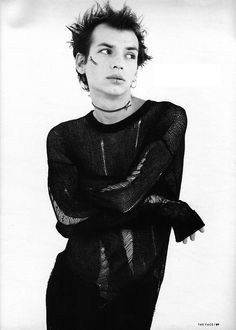 Photos Jean Baptiste Mondino  Styling Judy Blame  Magazine The Face, August 1993