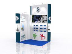 Modular Exhibition Stand Design (639)