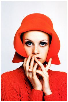 Richard Avedon Twiggy Lawson 1967