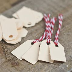 Miniature Ivory Tags