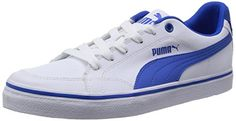 Puma Court Point Vulc, Herren Sneakers, Weiß (white-strong blue 03), 39 EU (6 Herren UK) - http://on-line-kaufen.de/puma/39-eu-puma-court-point-vulc-herren-sneakers-5