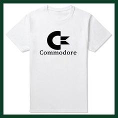 2016 Summer Commodore 64 t-shirt C64 SID Amiga Retro 8-bit Ultra Cool Design Vinyl tee Mens Clothing With Short Sleeve
