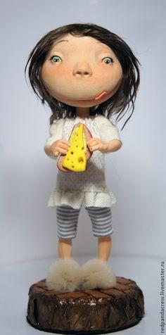Коллекционные куклы ручной работы: Жрица ночи. Handmade.
