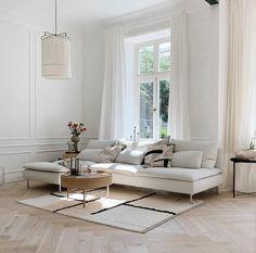 Ikea Living Room, Living Room Sets, Living Room Modern, Living Room Interior, Home Interior Design, Home And Living, Living Room Designs, Ikea Interior, Interior Livingroom