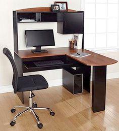 Corner Computer Desk L Shaped Home Office Student Workstation Study #Unbranded