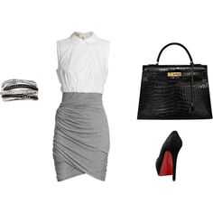 classy office look. I must have this bag someday