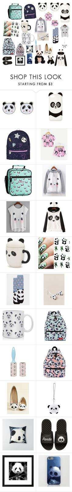 """PANDA MANIA!!!"" by natalie83322 ❤ liked on Polyvore featuring beauty, Accessorize, Charlotte Russe, PBteen, WithChic, Forever 21, Dorothy Perkins, OK Originals, DENY Designs and TONYMOLY"