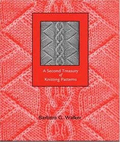90690 : Walker, Barbara G. A second treasury of knitting patterns / Barbara G. photography by William J. Knitting Books, Lace Knitting, Knitting Stitches, Knitting Projects, Knitting Patterns, Knit Crochet, Crochet Books, Knitting Ideas, How To Purl Knit