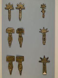 6th century German fibulae