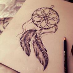 tattoo sexy / girl / love / life / tattoo thigh woman / dreamcatcher tattoo / dream catcher / feather tattoo / custom tattoo design / tattoo design / tattoo / black and grey /design /custom / tattoo d. Mini Tattoos, Leg Tattoos, Body Art Tattoos, Tatoos, Design Tattoo, Mandala Tattoo Design, Tattoo Designs, Dream Catcher Sketch, Dream Catcher Tattoo Design