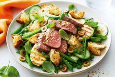 Spring Lamb, Haloumi & Pea Salad