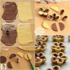 56 Gorgeous from Each Other of Homemade Pastries, Easy Food Decorations - Delicious Food Kids Pastry Recipes, Cookie Recipes, Dessert Recipes, Cupcake Cookies, Cupcakes, Flower Cookies, Breakfast Plate, Food Tags, How To Make Cookies