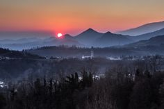 Sunset of Prealpi.