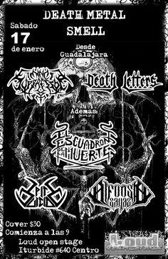 MUSIC EXTREME: MIND SUPRESSOR + DEATH LETTERS + ESCUADRON DE LA M...#mindsupressor #deathletters #escuadrondelamuerte #spitesuicide #alfonsosayas #metal #deathmetal