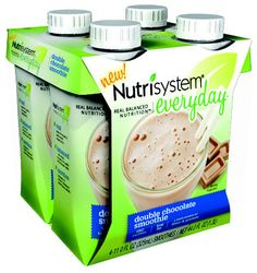 #Nutrisystem® Everyday™ Double Chocolate Smoothie www.nutrisystemeveryday.com