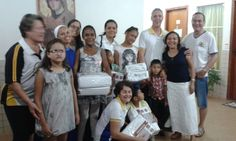 Palmas Adão Cordeiro Machado #LionsClub (Brazil) donated supplies to a children's home