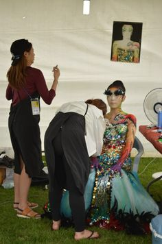 The amazing Daegu body painting festival in South Korea  http://www.rafiquaisraelexpress.com/daegu-international-body-painting-festival/