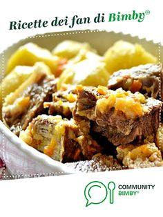 Spezzatino di manzo a grassato con patate è un ricetta creata dall'utente Ilsolleticonelcuore. Questa ricetta Bimby® potrebbe quindi non essere stata testata, la troverai nella categoria Secondi piatti a base di carne e salumi su www.ricettario-bimby.it, la Community Bimby®. Carne, 20 Min, Mashed Potatoes, Ethnic Recipes, Food, Whipped Potatoes, Smash Potatoes, Meals