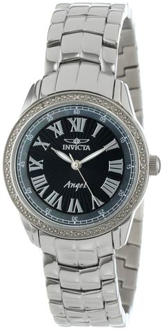 #Invicta #Watchd , Invicta Women's 0611 Angel Collection Diamond Stainless Steel Watch
