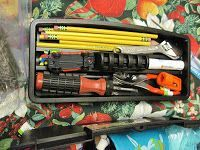 """ShoeBoxes of Love: Tool Box Packing Party - Pack a tool box or a fishing box to make a """"career"""" box for older boys. (AMAZING blog dedicated to OCC - tons of ideas, need to check this one regularly)"""