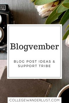 Blogvember – blog post ideas and support tribe