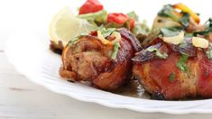 Závitky v slanine Czech Recipes, Ethnic Recipes, Baked Potato, Food To Make, Pork, Turkey, Potatoes, Chicken, Baking