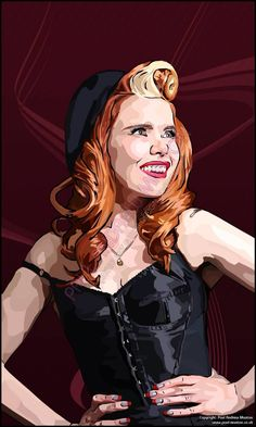 My new piece of art based on Paloma Faith (all my work is available at www.paul-manton.co.uk)